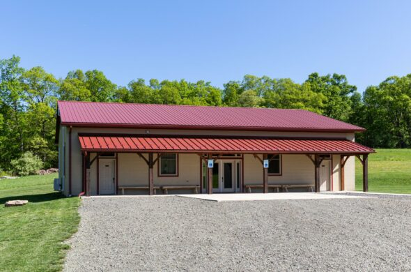 bunkhouse and conference room at Fox Run Retreat